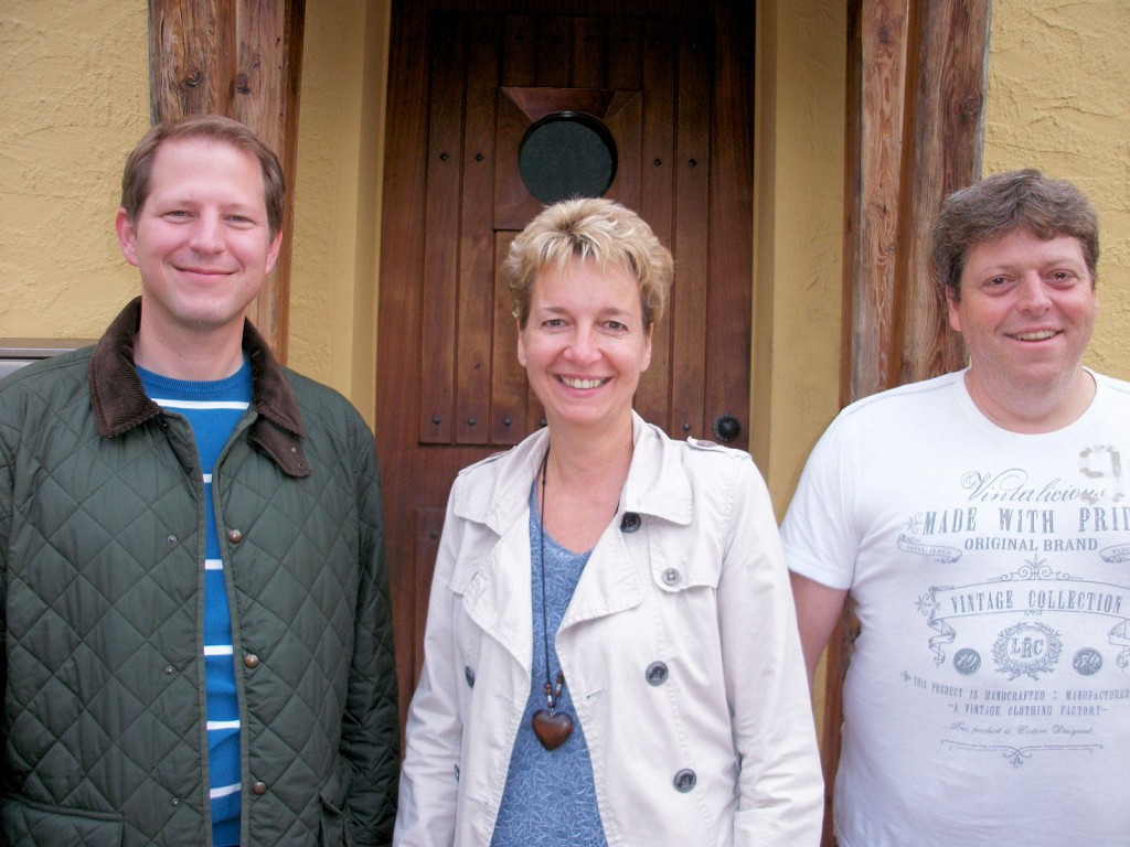 Vorstand des Proteus-Syndrom e.V. (v.l.n.r.): Jürgen Elsner, Sylke Hilger, Dieter Dreissigacker